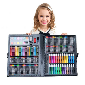 168 PCS Kids Colored Art Supplies Kit