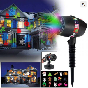 New Slide Show (12 Full Color Slides For Laser Night Projector)