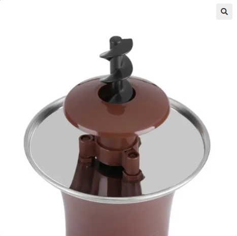 Electric Chocolate Fountain Fondue Machine