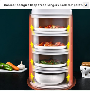 Stackable Food Insulation Cover Storage