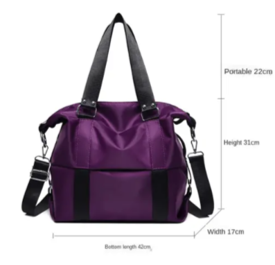 Image of Multifunctional Gym Bag for Women