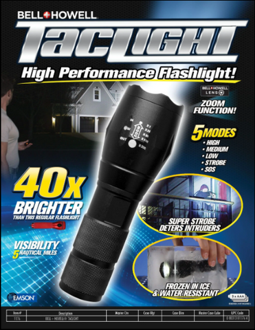 Image of Portable LED Flashlight