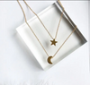 Star Design Long Pendant Necklaces for Women