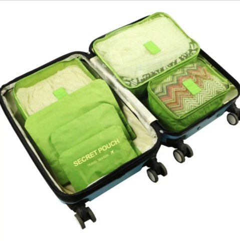 6PCS Set Packing Travel Organizers