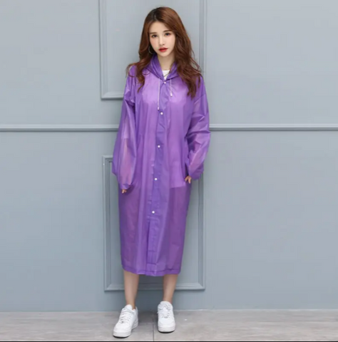 Eva Fashionable Adult Raincoat
