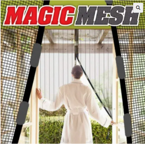 Image of Magnetic Magic Mesh Insects Protector