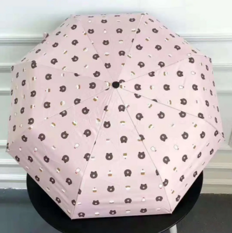 Image of Automatic Folding Bear Umbrella