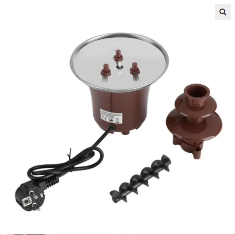 Image of Electric Chocolate Fountain Fondue Machine