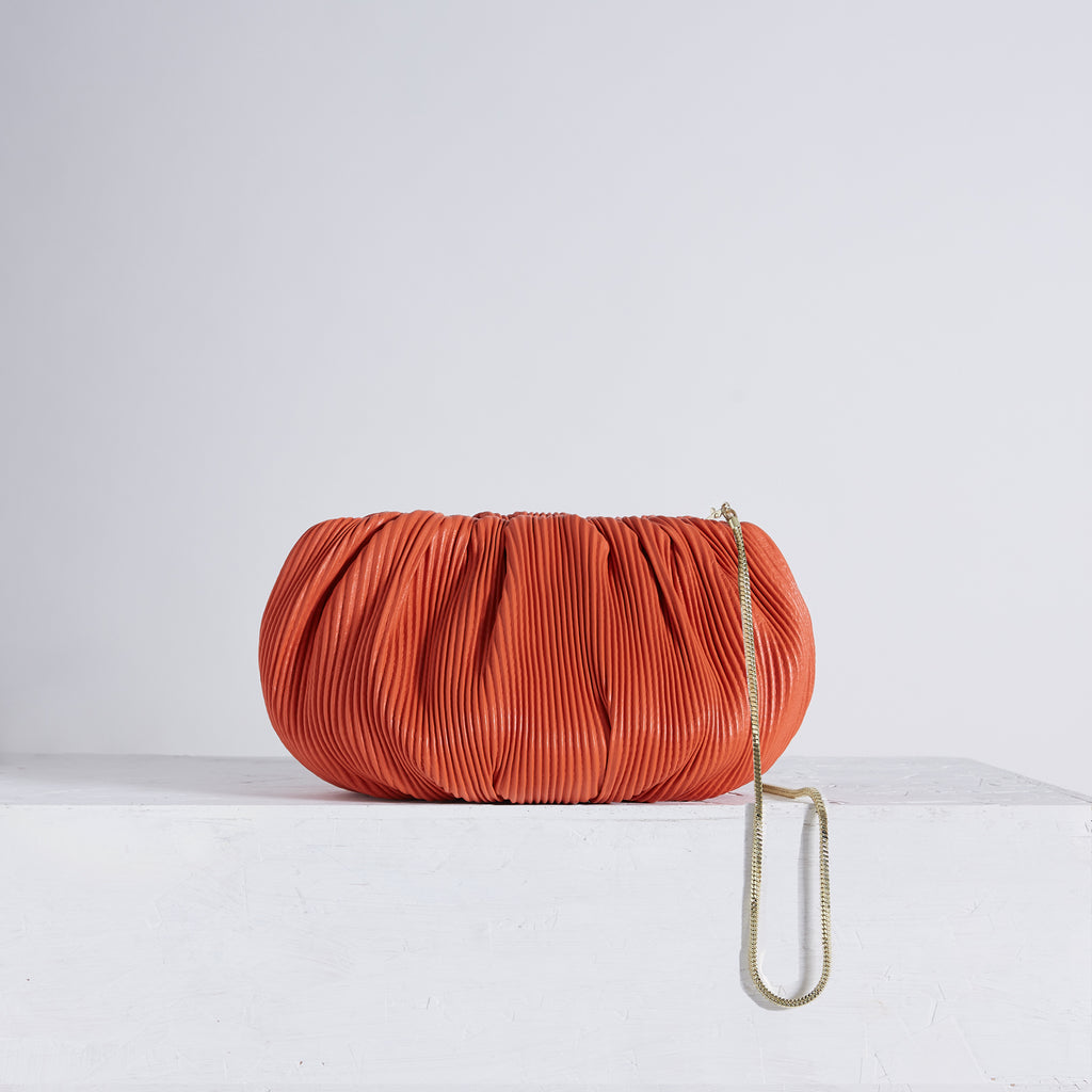 "Bubble 12"" Corrugated Orange 