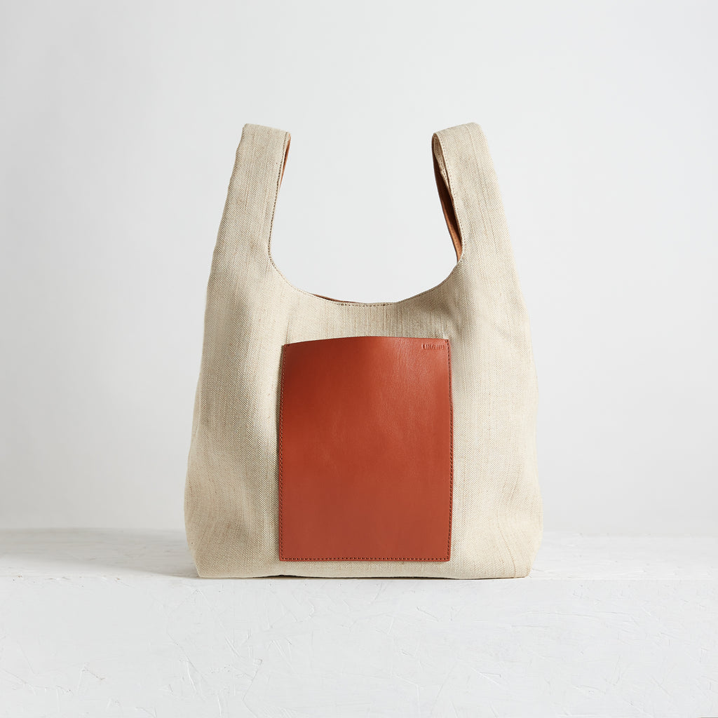"Le Sac 12"" Canvas Tan 