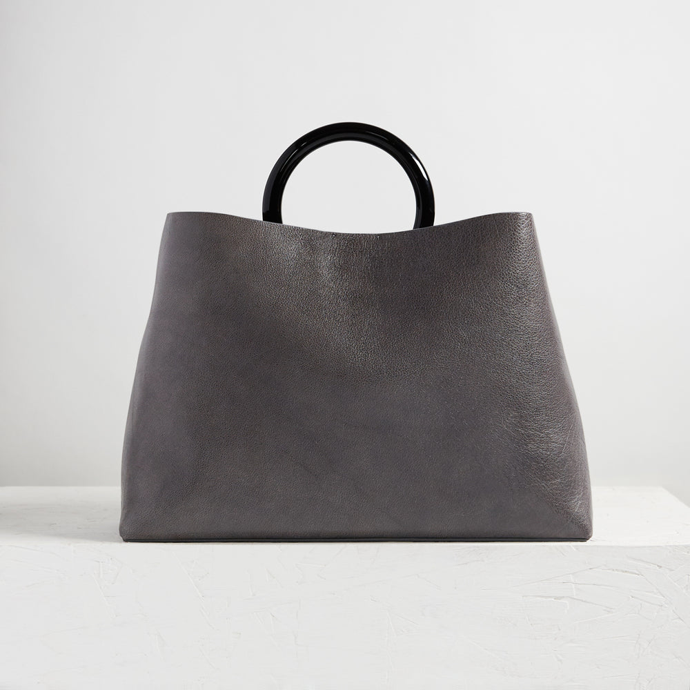 "Miller 16"" Grey Leather"