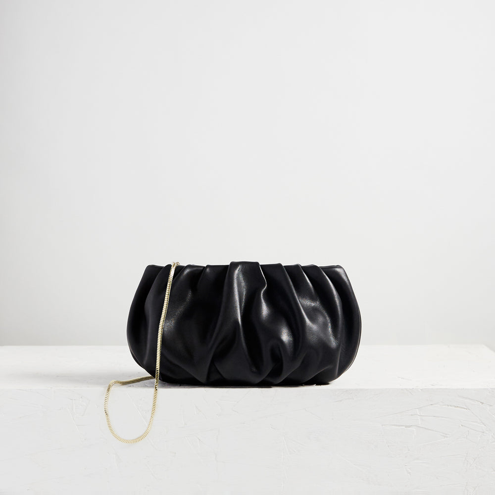 "Bubble 10"" Sheepskin Black"
