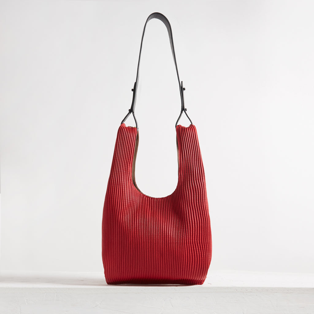 Le Sac Corrugated Lamb Red