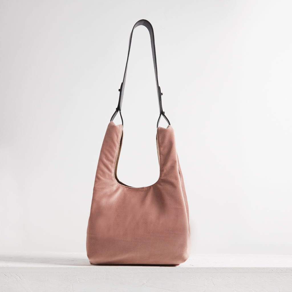 Le Sac Velvet Dusty Pink