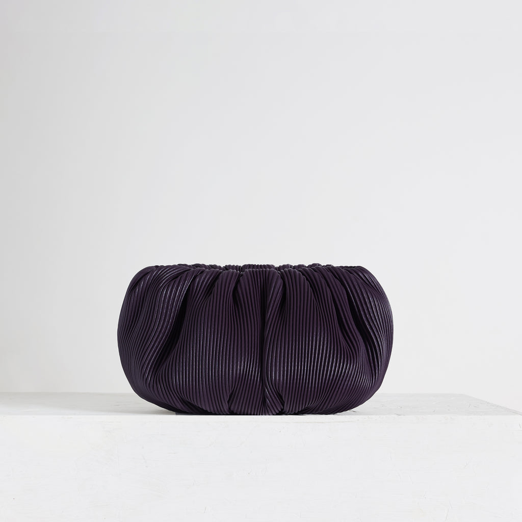 "Bubble 12"" Corrugated Aubergine 