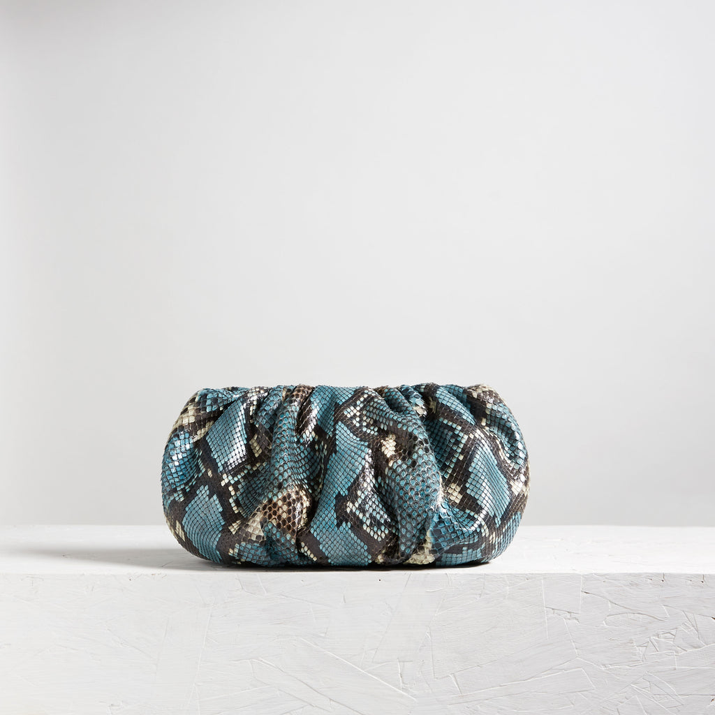 "Bubble 12"" Python Hand Painted Blue (Pre-Order)"