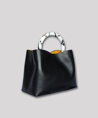 Miller Small Leather Black