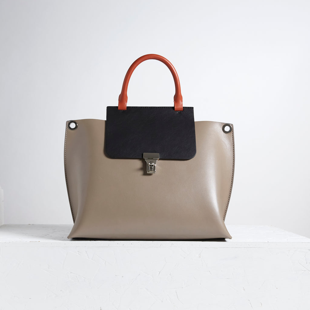 Oscar Calf Grey And Black