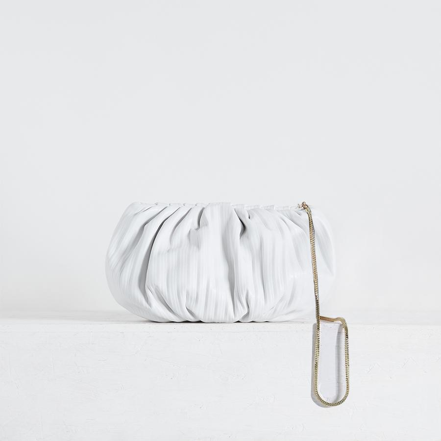"Bubble 12"" Pleated White (Pre-order)"