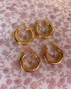 ✾ Lily Hoops