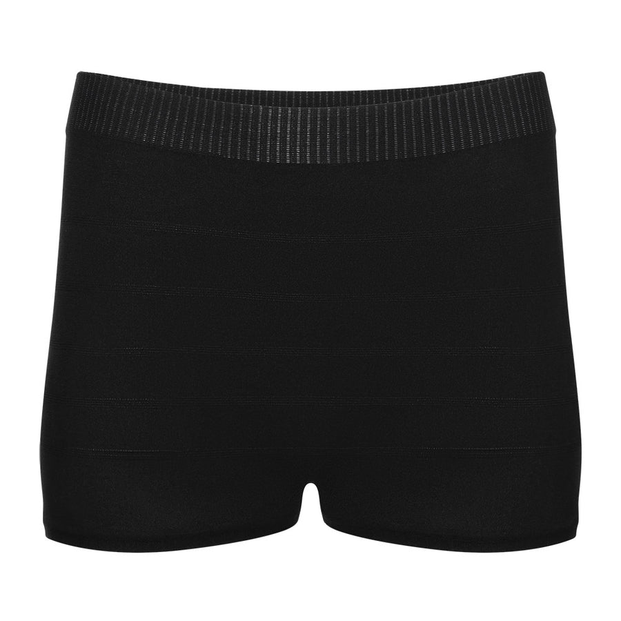 Disposable Postpartum Underwear : Women's Mesh Panties in Black by Brief Transitions