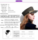 Snappy Military Hat-Women - Accessories - hat-MiKlahFashion