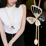 Butterfly Love Necklace-necklace-MiKlahFashion