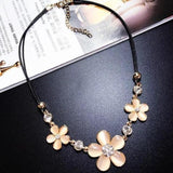 Daisy For Me Necklace-necklace-MiKlahFashion