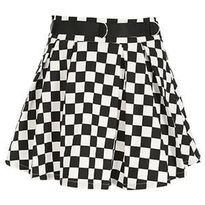 Check Me Skirts-Women - Apparel - Skirts-MiKlahFashion