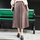 Velvet Skirt-Women - Apparel - Skirts-MiKlahFashion