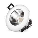 Downlight, COB, 40W, 3CCT, Flicker free, Triac Dimmable, White
