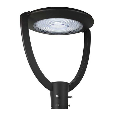 Garden, Park Light, 240V, 75 Watt, IP65, pole mounted, Black