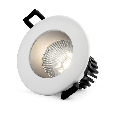 Downlight, 12W, COB LED, Ultra low glare, ,3CCT, Flicker free, Triac Dimmable, White