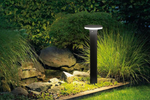 Bollard, Garden light, 240VAC, 12W, IP54, sand black