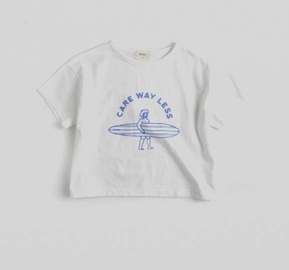 Surfing Tee | White