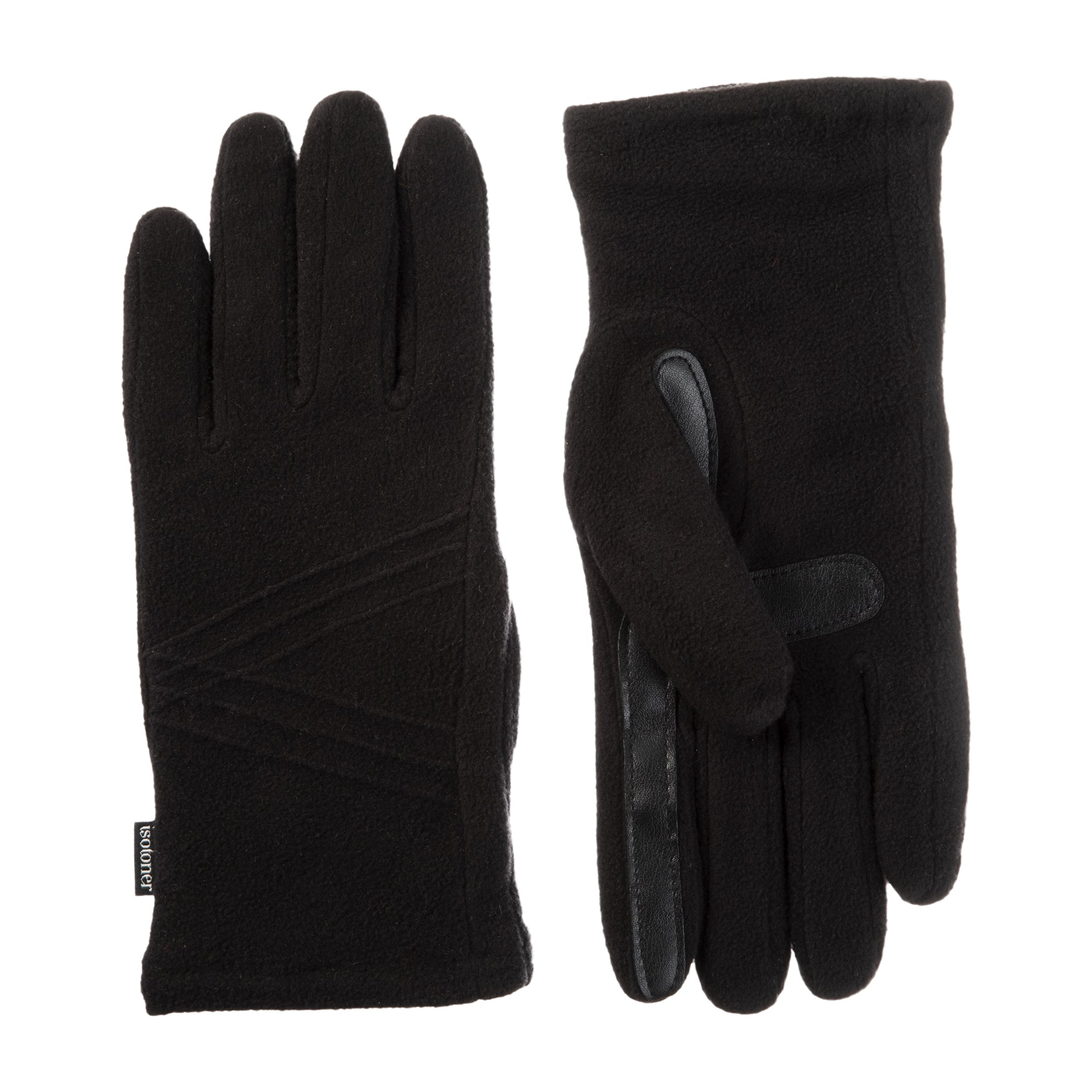 Women's Fleece Touchscreen Gloves Black 1