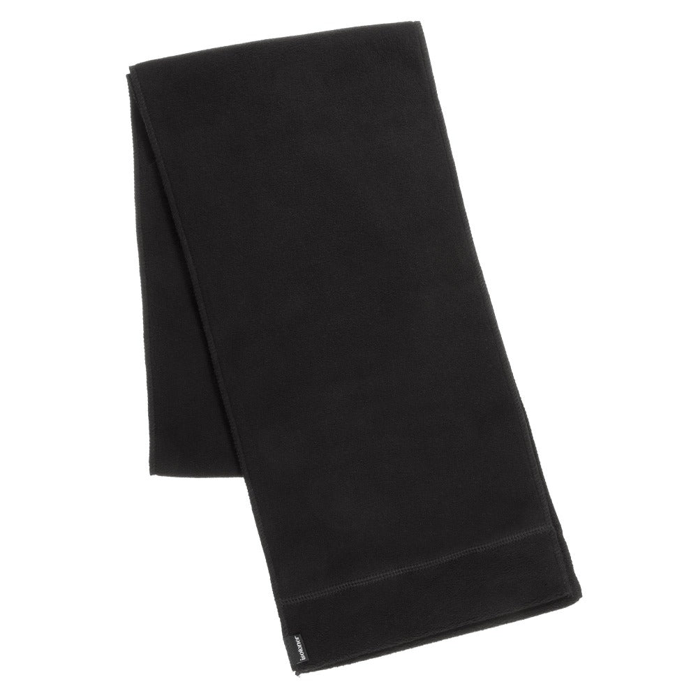 Women's Stretch Fleece Scarf in Black