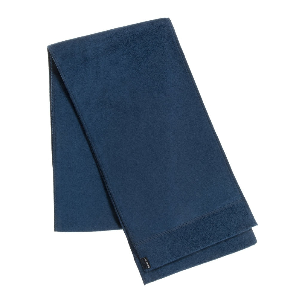 Women's Stretch Fleece Scarf in Stormy Sea (Navy Blue)