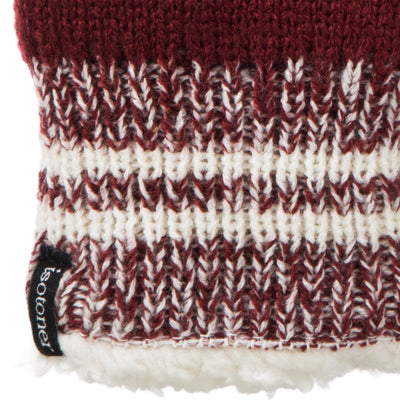 Women's Game Day Mittens Cherry Stone(Red) Cuff Detail