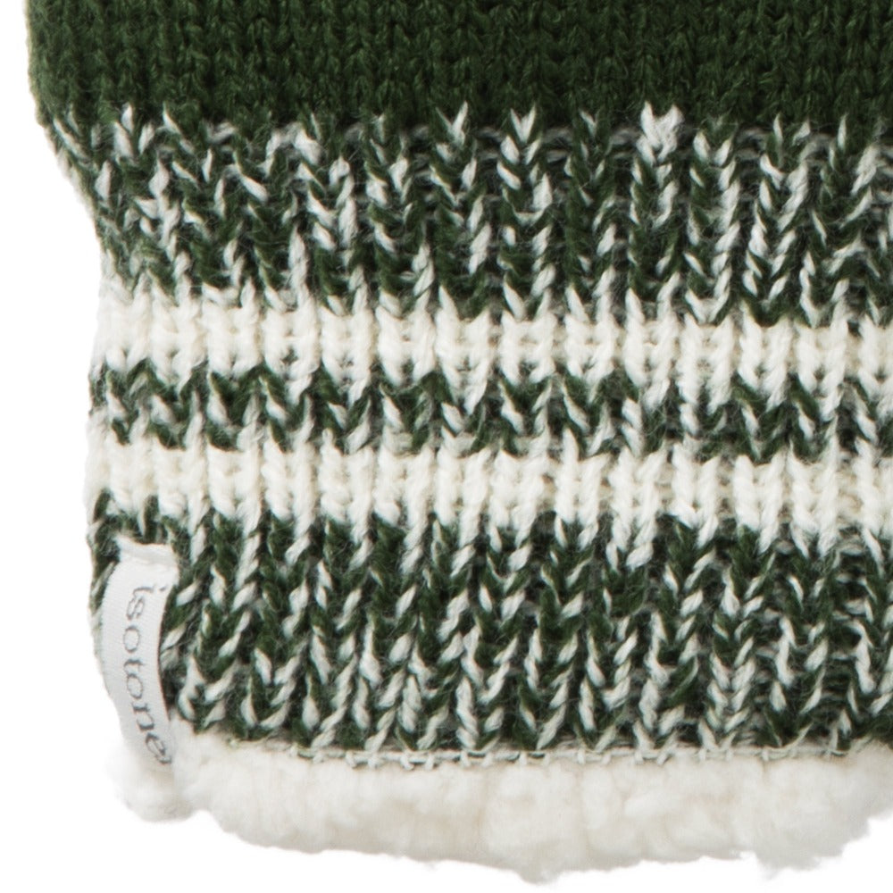 Women's Game Day Mittens Basil (Green) Cuff Details