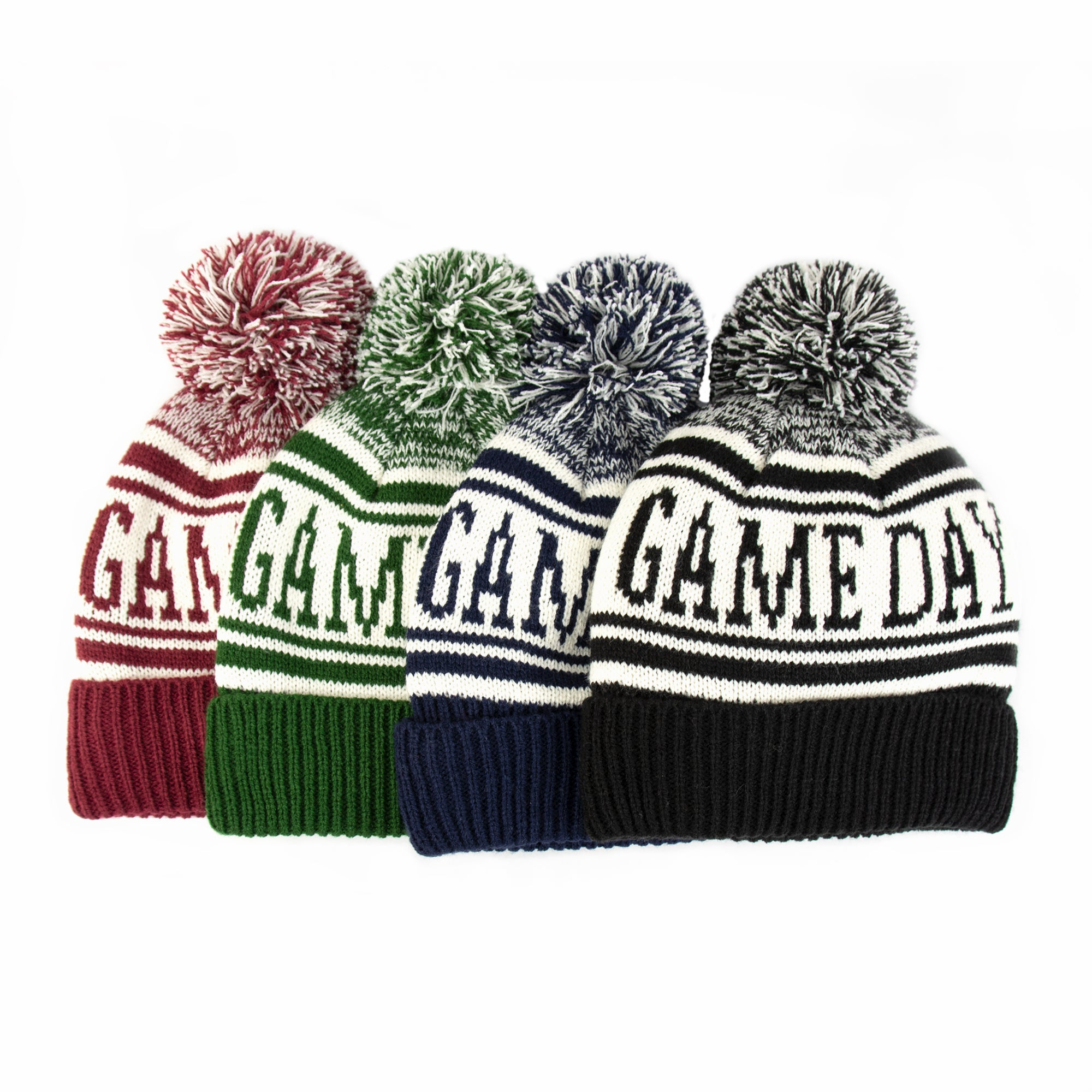 Women's Game Day Hat in Cherry Stone(Really Red), Basil (Green), Navy Blue, Black