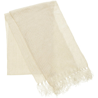 Women's Chenille Solid Knit Scarf