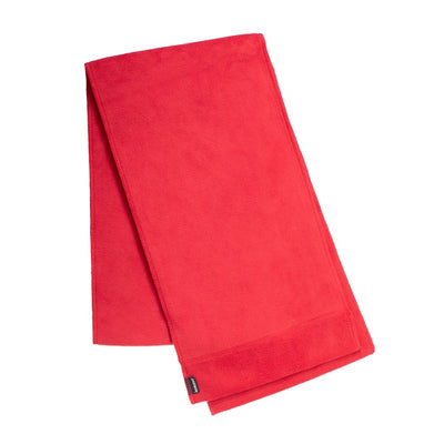 Women's Stretch Fleece Scarf in Chili Red