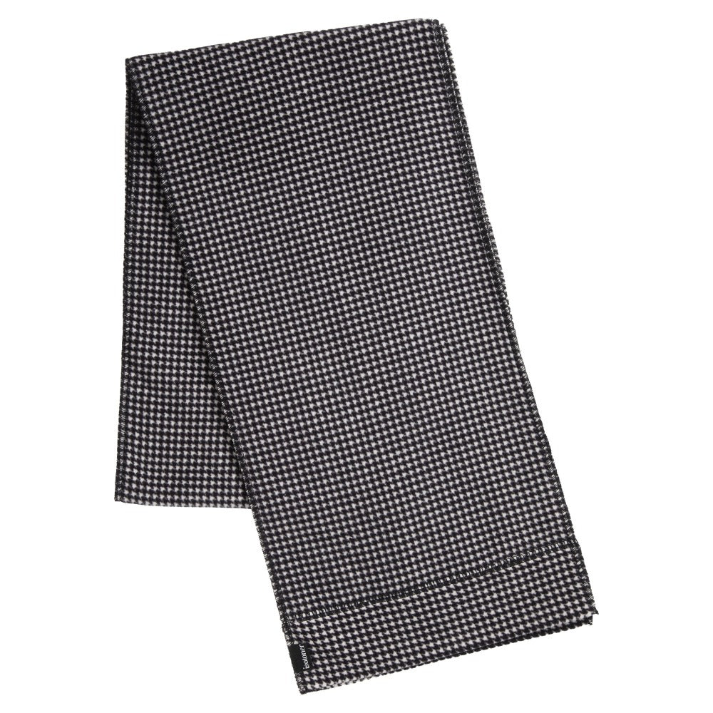 Women's Stretch Fleece Scarf in Houndstooth
