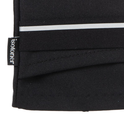 Women's Spandex Touchscreen Gloves with Pocket Black 2