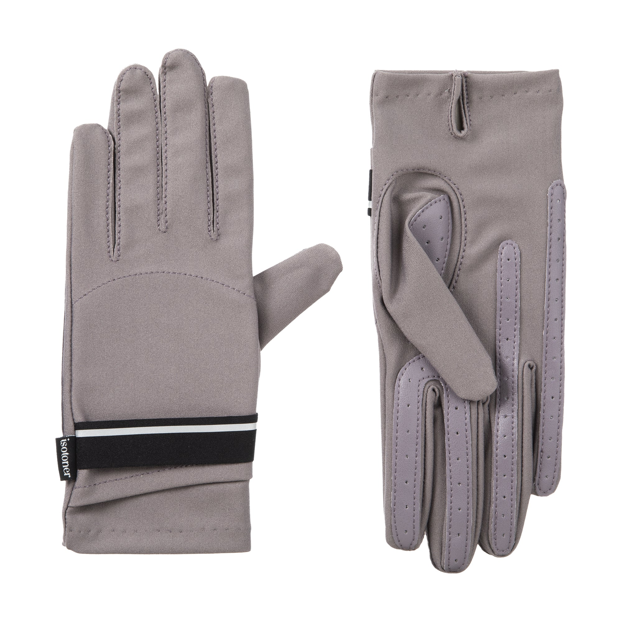 Women's Spandex Touchscreen Gloves with Pocket Dusty Lavender 3