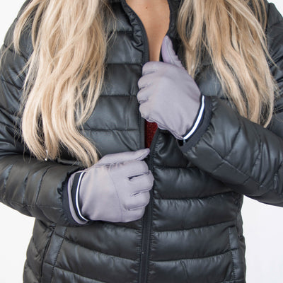 Women's Spandex Gloves with Pocket