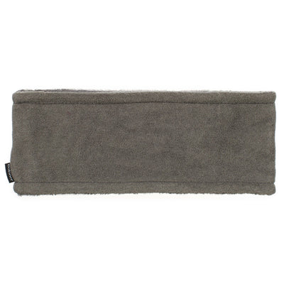 Women's Recycled Fleece Headband in Heather Grey