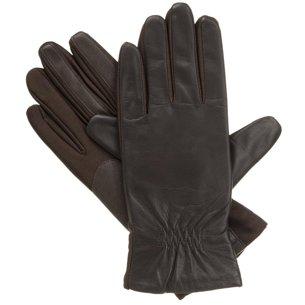 Women's Stretch Leather Gloves