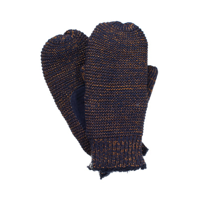 Women's Knit Mittens with Lurex  11